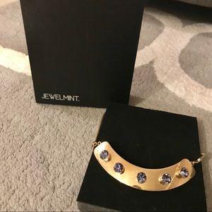 Jewelmint Lavender Slate Necklace